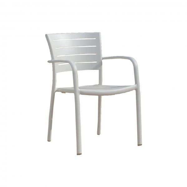 carma aluminium stapelsessel piazza anthrazit bumb. Black Bedroom Furniture Sets. Home Design Ideas