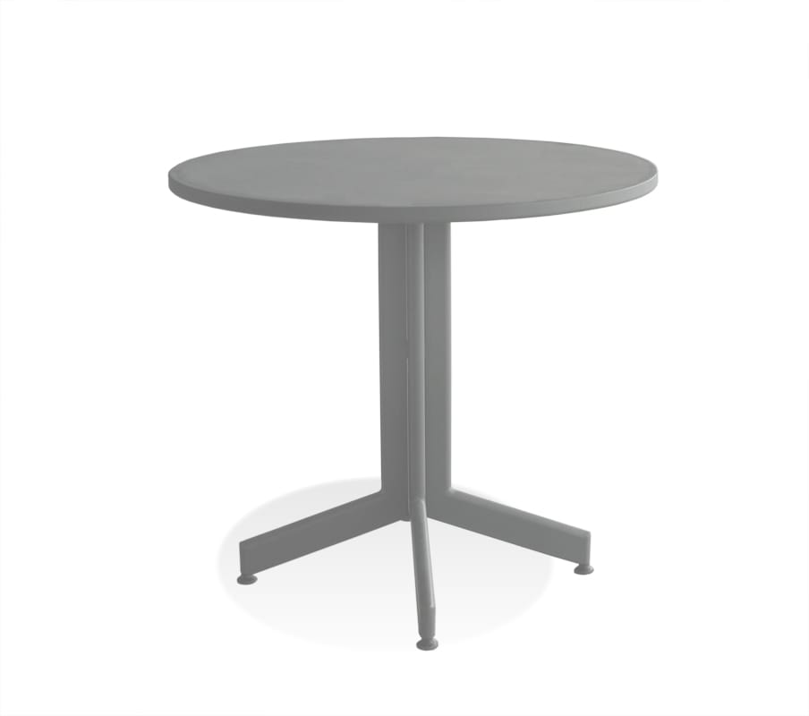 carma aluminium sunny bistrotisch rund bumb. Black Bedroom Furniture Sets. Home Design Ideas