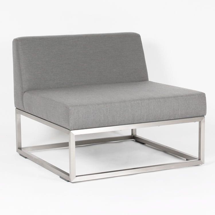 carma lounge bahama 90 mittelmodul sunbrella edelstahl bumb gartenm bel karlsruhe. Black Bedroom Furniture Sets. Home Design Ideas