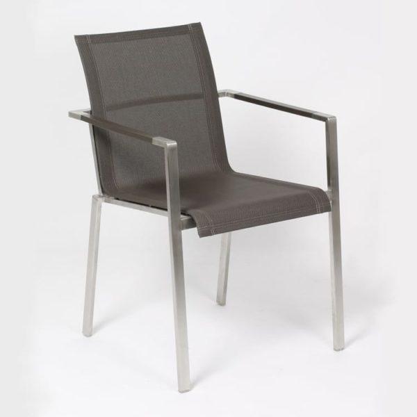 carma edelstahl stapelsessel madrid textilene bumb gartenm bel karlsruhe. Black Bedroom Furniture Sets. Home Design Ideas