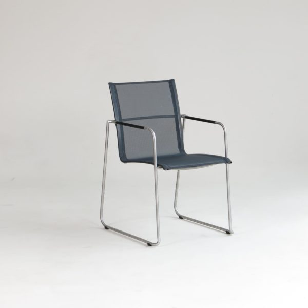 carma edelstahl stapelsessel mood batyline bumb gartenm bel karlsruhe. Black Bedroom Furniture Sets. Home Design Ideas