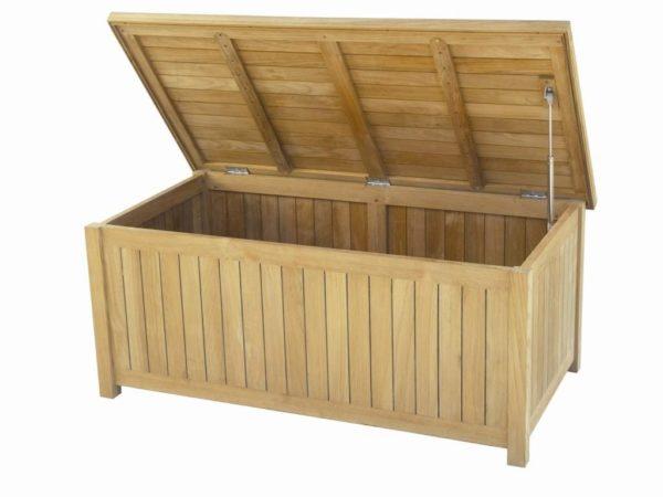 carma teak kissenbox barca premium teakholz bumb. Black Bedroom Furniture Sets. Home Design Ideas