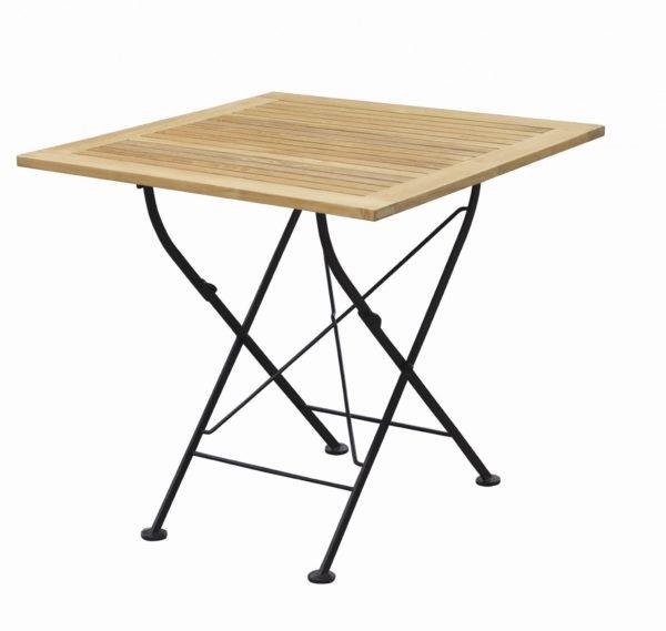 carma klapptisch venezia quadratisch rechteckig oder rund teakholz bumb gartenm bel karlsruhe. Black Bedroom Furniture Sets. Home Design Ideas