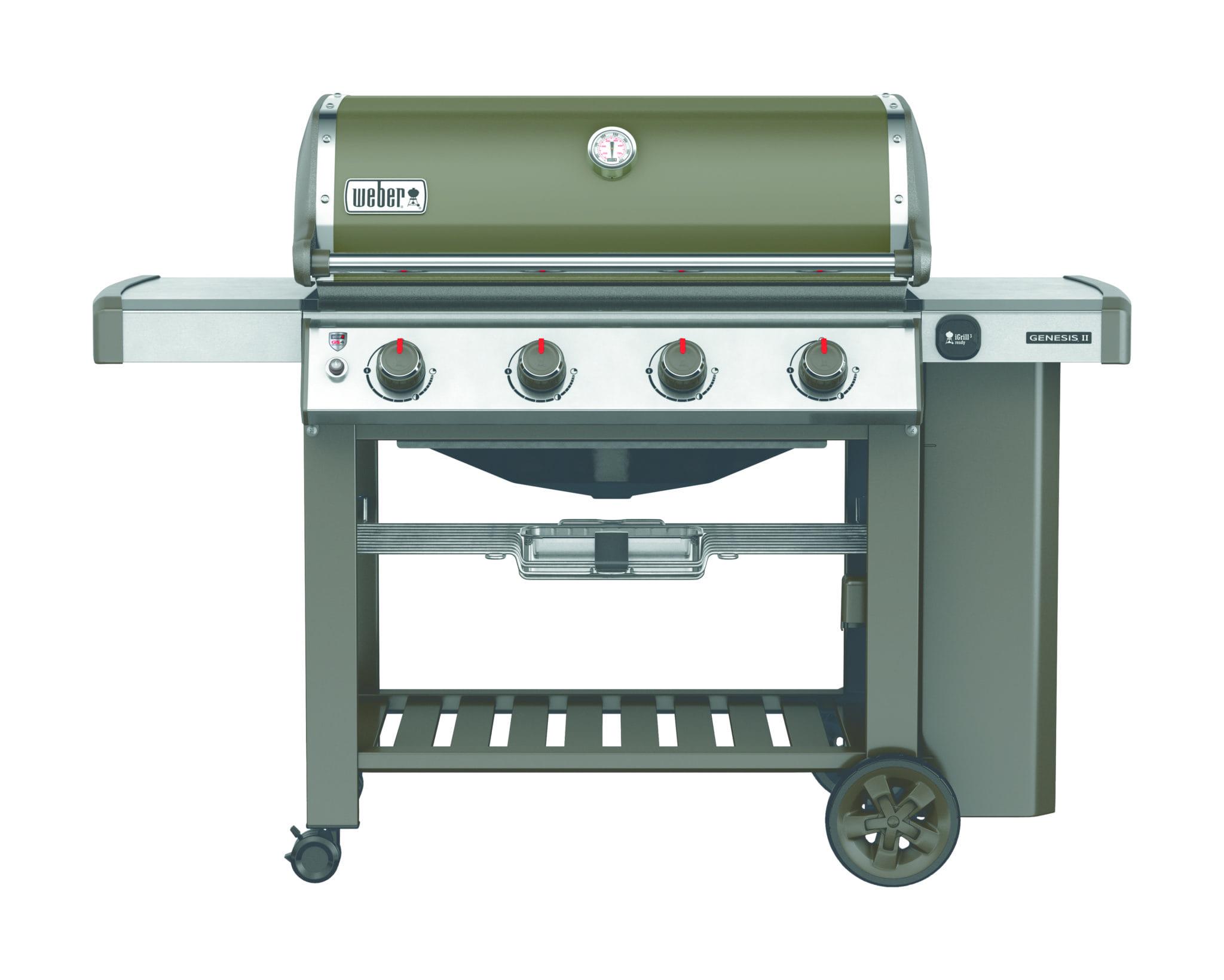 Weber Genesis® II E-410 GBS® smoke grey   Bumb Gartenmöbel Karlsruhe