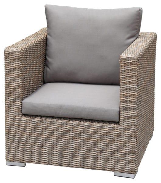 zebra polyrattan jack lounge sessel halbrundfaser. Black Bedroom Furniture Sets. Home Design Ideas