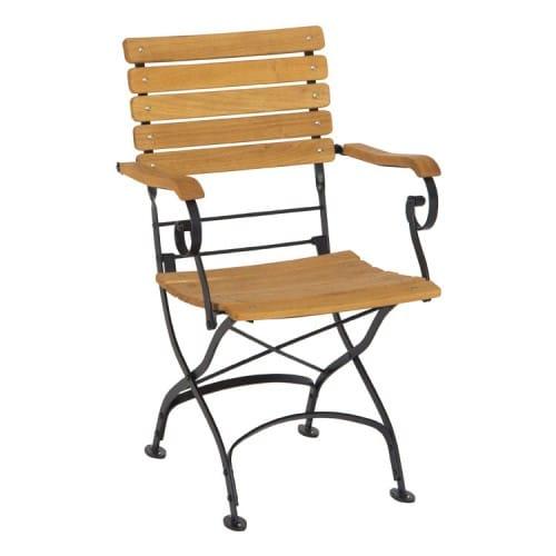 stern eisen klappsessel camargue robinienholz bumb gartenm bel karlsruhe. Black Bedroom Furniture Sets. Home Design Ideas