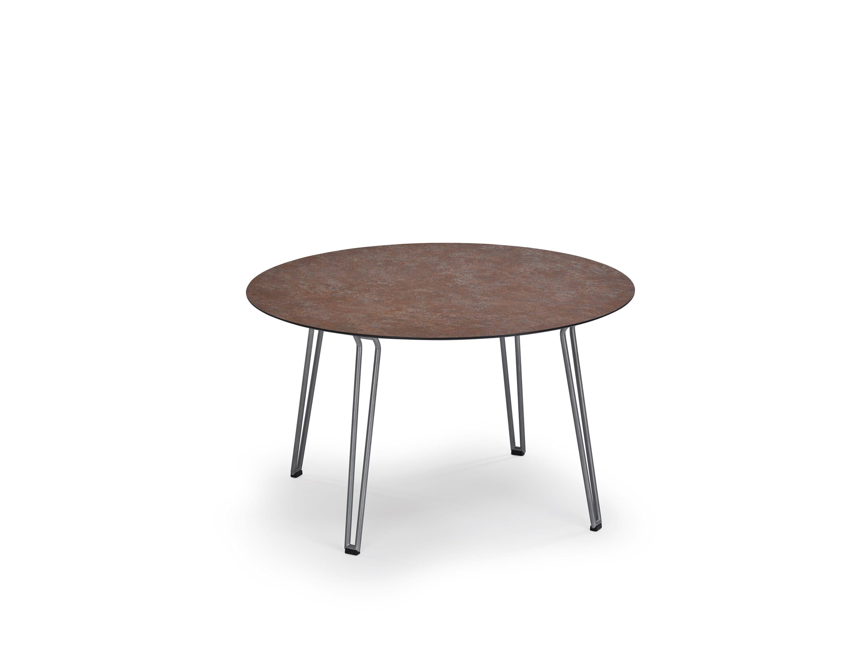 weish upl slope tisch rund hpl oder teak edelstahl oder teakfu bumb gartenm bel karlsruhe. Black Bedroom Furniture Sets. Home Design Ideas