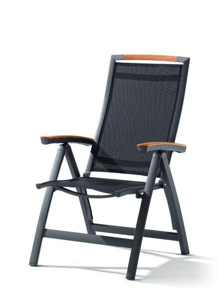 sieger aluminium multipositionssessel catena bumb. Black Bedroom Furniture Sets. Home Design Ideas