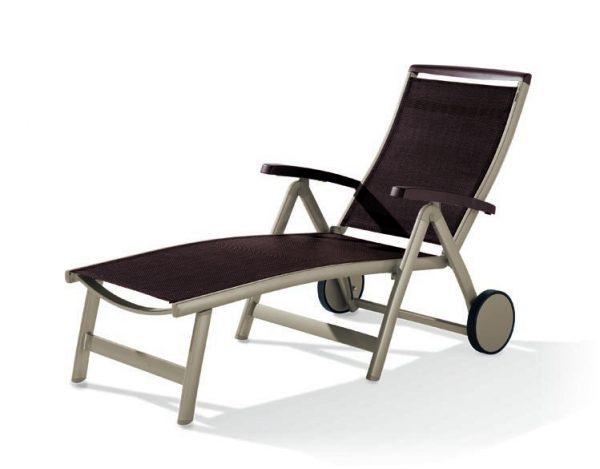 sieger aluminium klapprollliege royal bumb gartenm bel karlsruhe. Black Bedroom Furniture Sets. Home Design Ideas