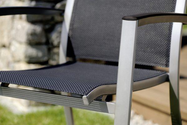 sieger aluminium stapelsessel trento bumb gartenm bel karlsruhe. Black Bedroom Furniture Sets. Home Design Ideas