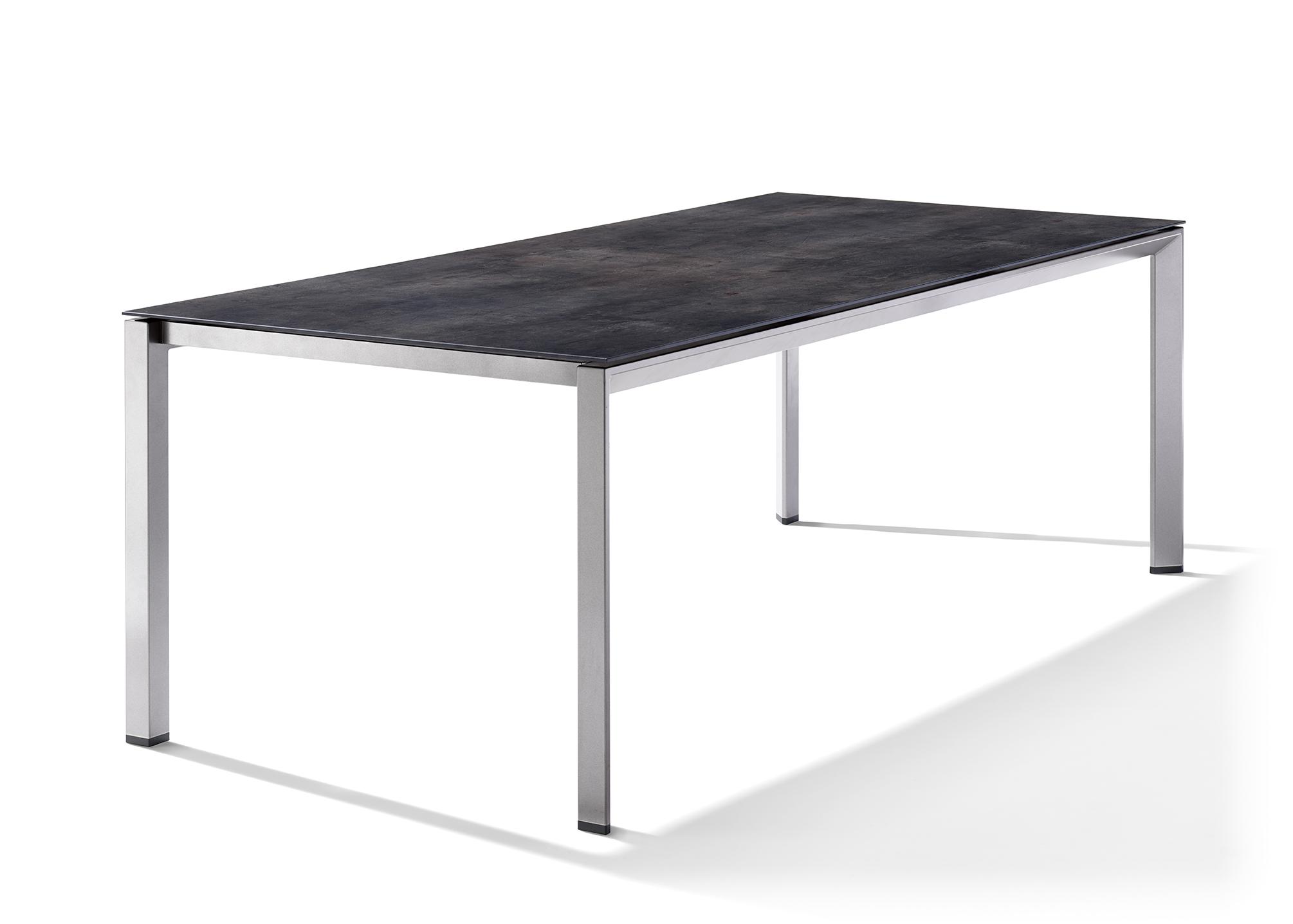 sieger tischfreiheit mit system tisch aluminium. Black Bedroom Furniture Sets. Home Design Ideas