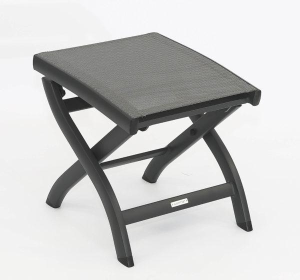 carma aluminium hocker kreta anthrazit batyline bumb gartenm bel karlsruhe. Black Bedroom Furniture Sets. Home Design Ideas