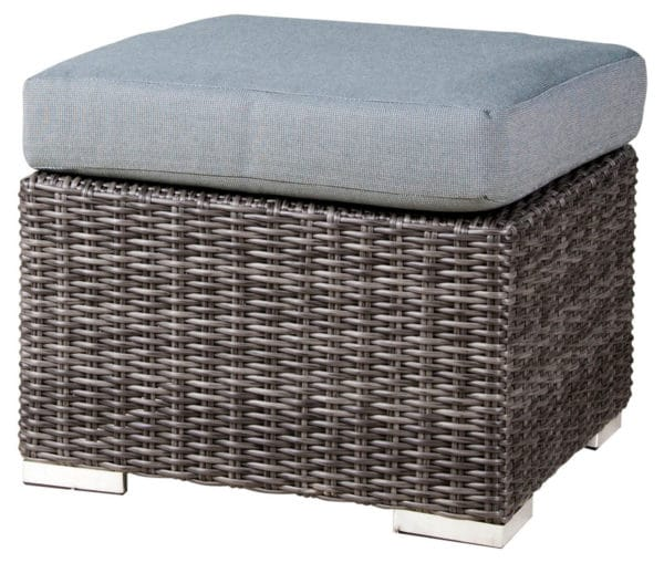 Zebra Polyrattan Jack Lounge Junior Hocker